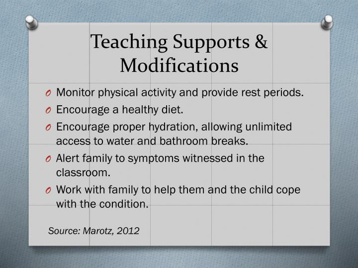 Teaching Supports & Modifications