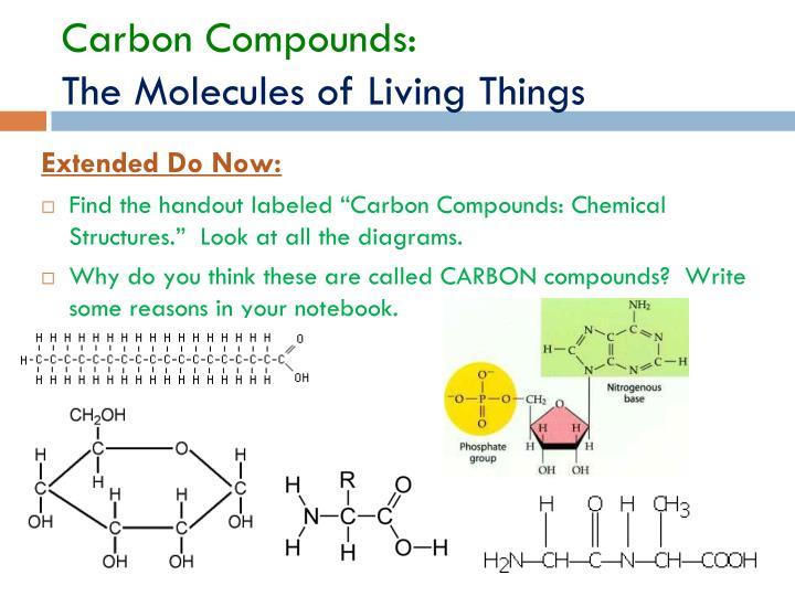 Carbon Compounds: