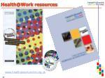health@work resources