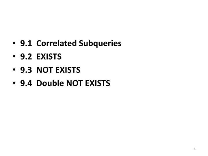 9.1  Correlated