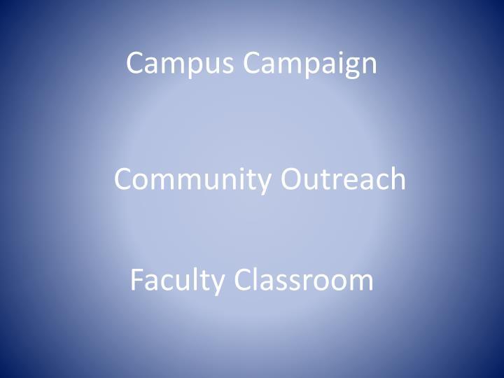 Campus Campaign