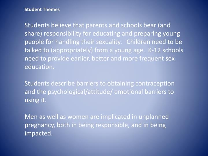 Student Themes