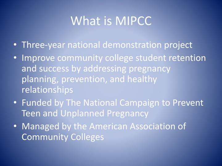 What is mipcc