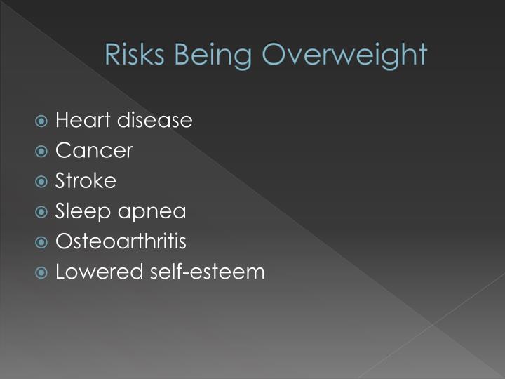 Risks Being Overweight