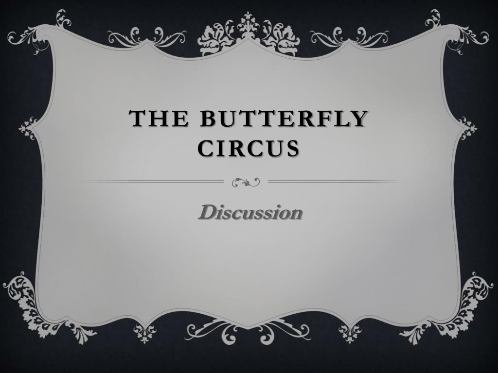the butterfly circus summary