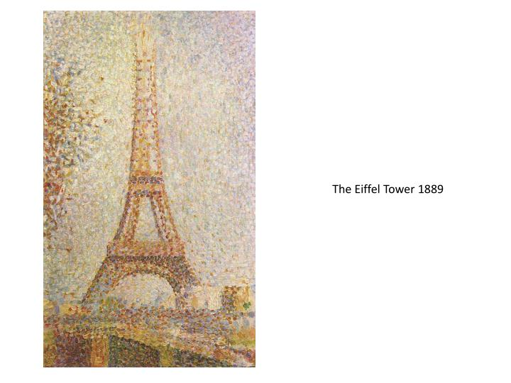 The Eiffel Tower 1889