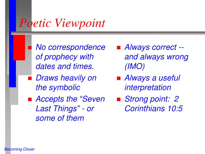 Poetic Viewpoint