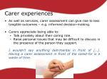 carer experiences1