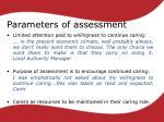 parameters of assessment1