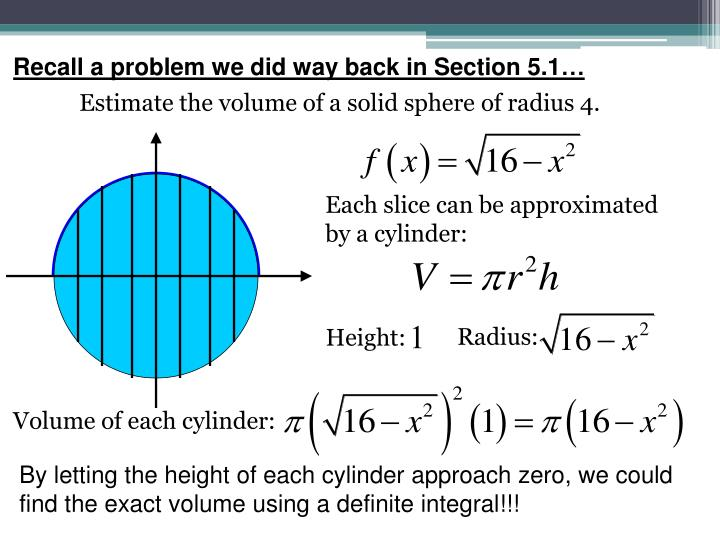 Recall a problem we did way back in Section 5.1…