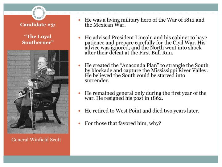 He was a living military hero of the War of 1812 and the Mexican War.