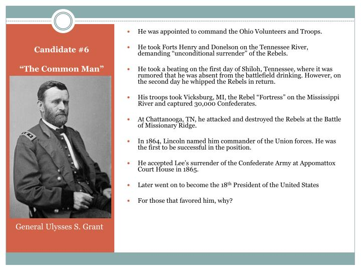 He was appointed to command the Ohio Volunteers and Troops.
