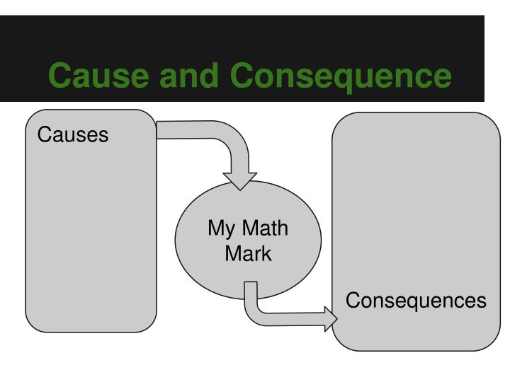Cause and Consequence