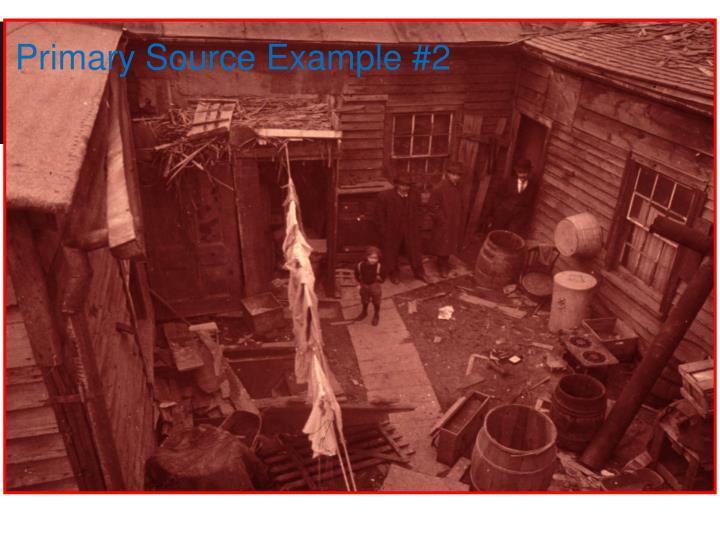 Primary Source Example #2