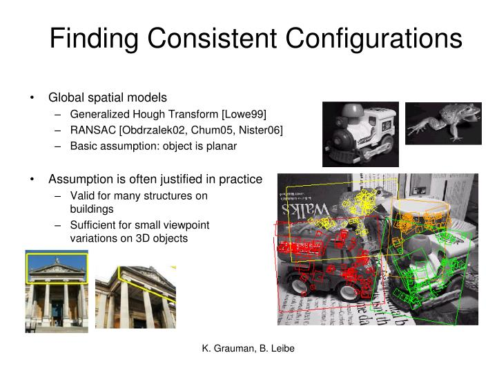 Finding Consistent Configurations