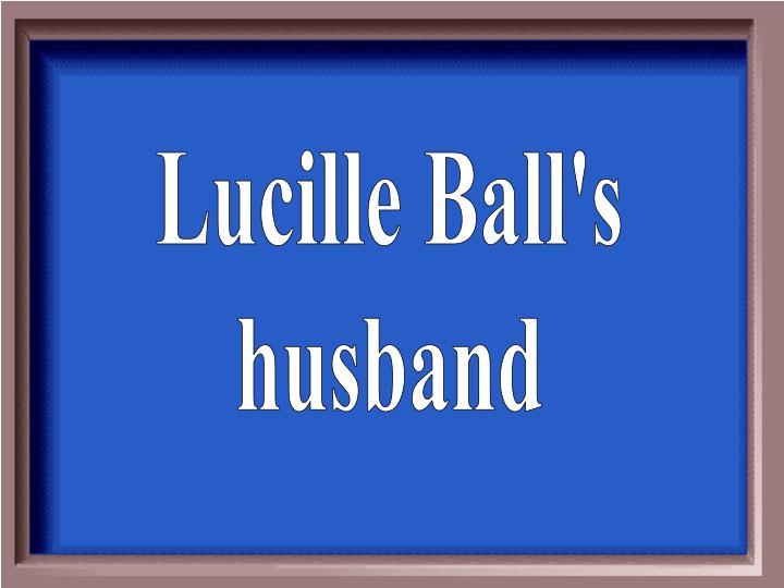 Lucille Ball's