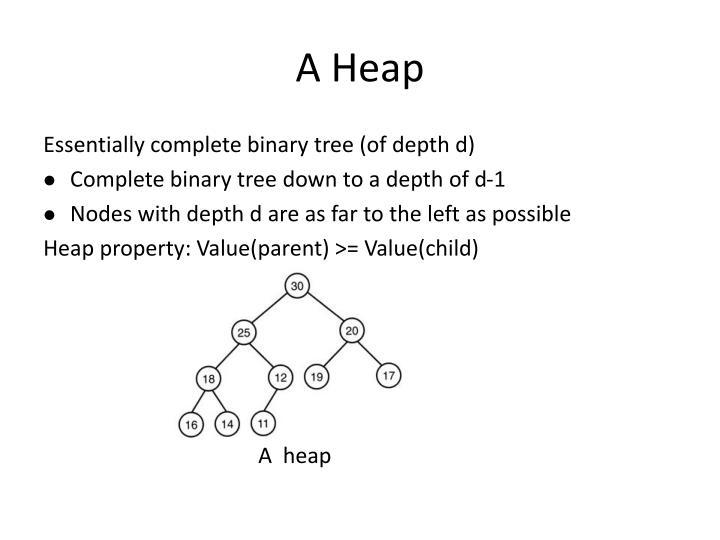 A Heap