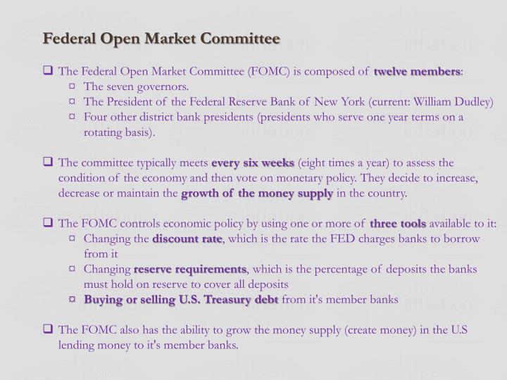 Federal Open Market