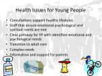 health issues for young people