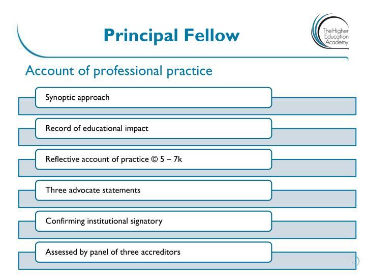 Principal Fellow