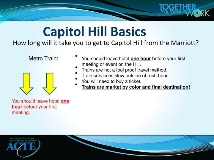 Capitol hill basics