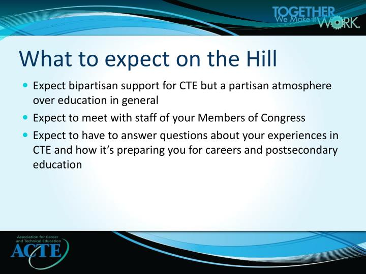 What to expect on the Hill
