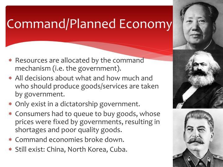 Command/Planned Economy