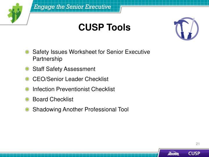CUSP Tools