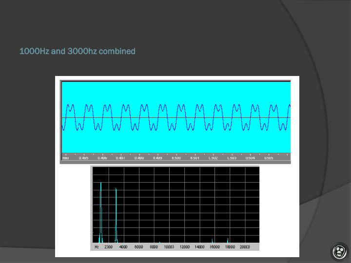 1000Hz and 3000hz combined