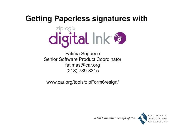 getting paperless signatures with n.
