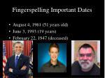 fingerspelling important dates1