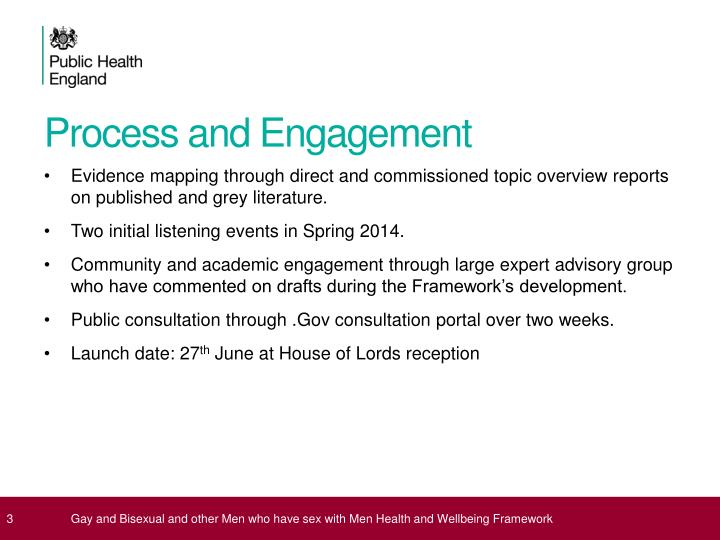 Process and engagement