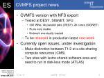 cvmfs project news
