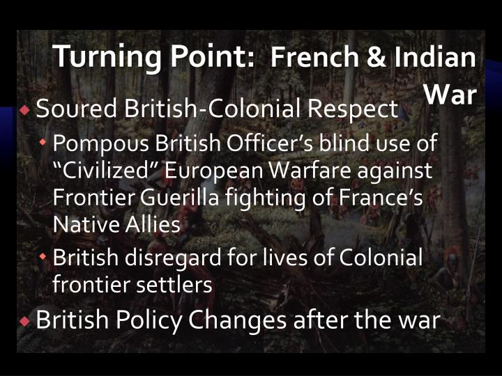 Turning point french indian war