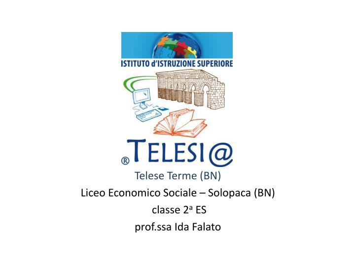 Telese Terme (BN)