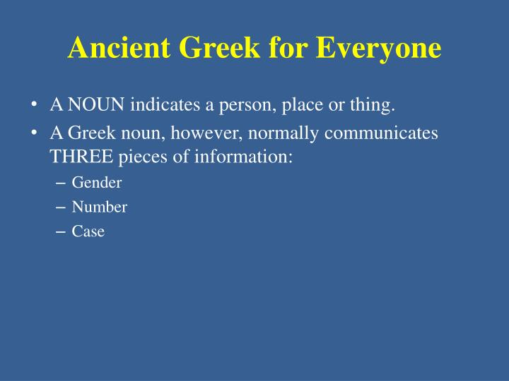 Ancient greek for everyone1