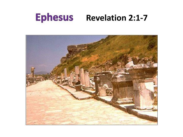 Ephesus revelation 2 1 7