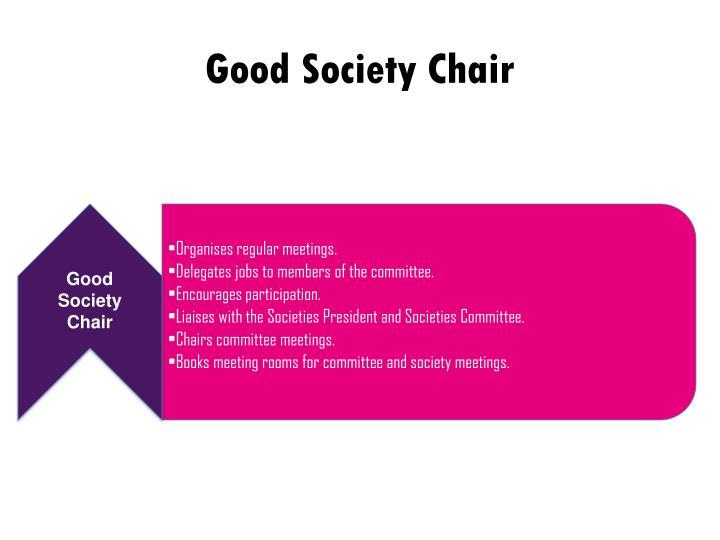Good Society Chair