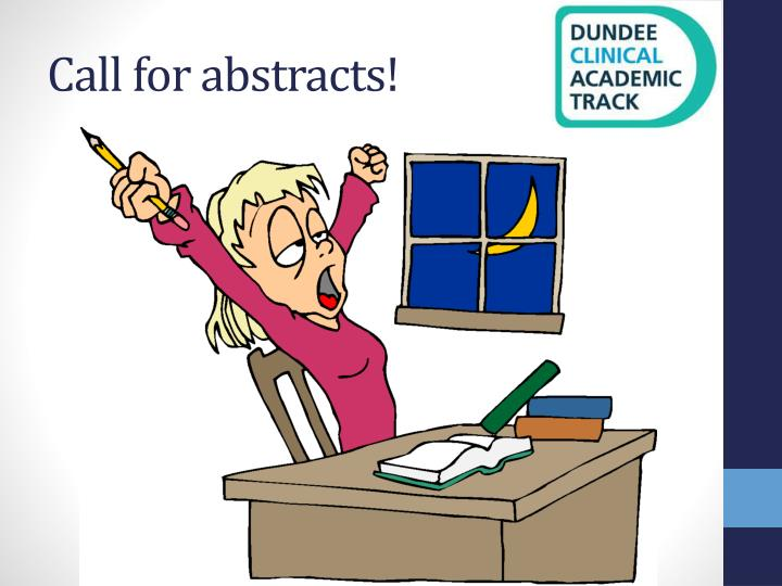 Call for abstracts1