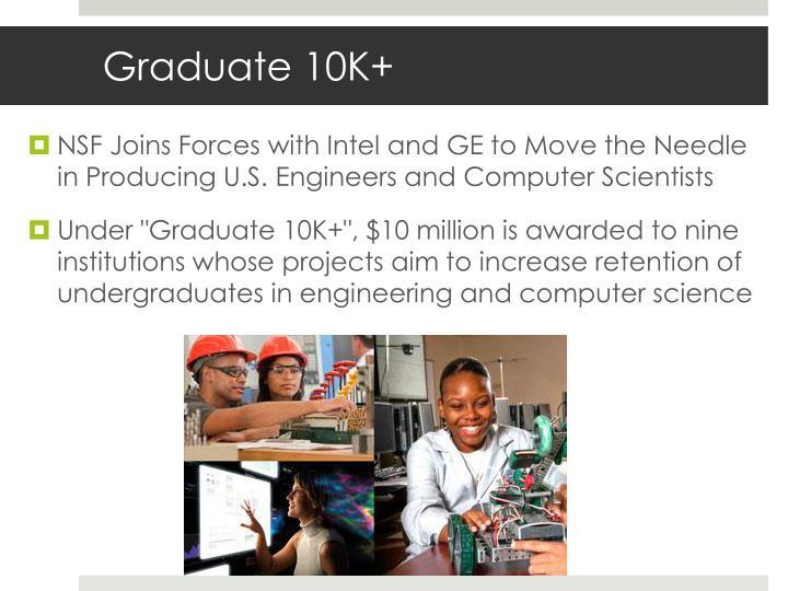 Graduate 10K+