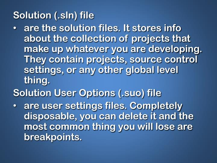 Solution (.