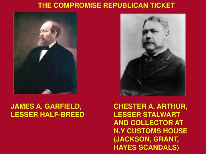 THE COMPROMISE REPUBLICAN TICKET