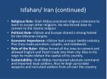 isfahan iran continued
