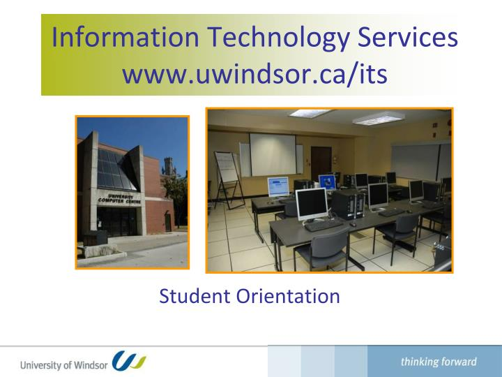 Information technology services www uwindsor ca its