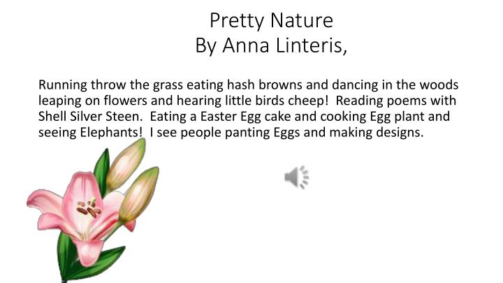 Pretty nature by anna linteris
