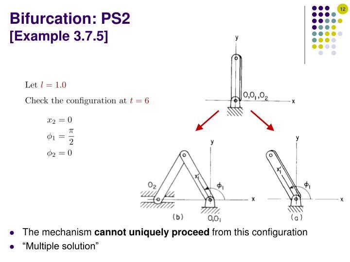 Bifurcation: PS2