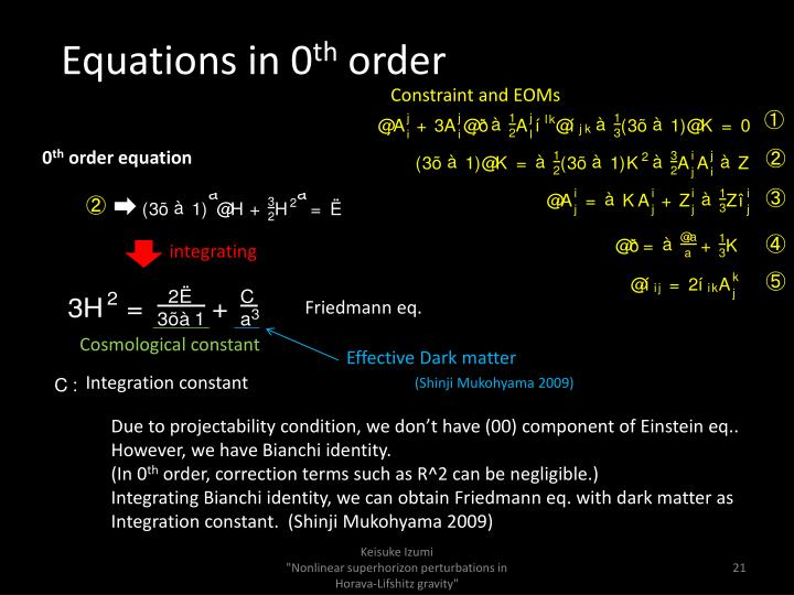 Equations in 0