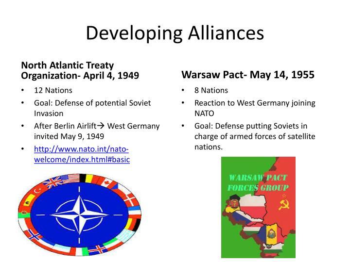Developing Alliances