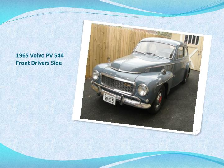 1965 volvo pv 544 front drivers side n.