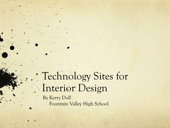 technology sites for interior design n.